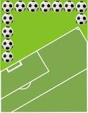 piłka nożna Ilustracja Wektor