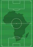 piłka nożna afryce Zdjęcie Stock