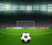 Piłka nożna bal.football, Obrazy Royalty Free