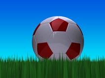 piłka nożna balowa Fotografia Royalty Free