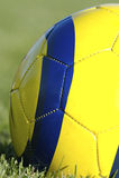 piłka nożna balowa obraz stock