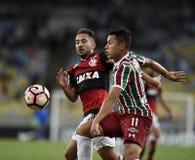 Piłka nożna - Brazylia Obrazy Royalty Free