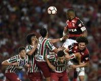 Piłka nożna - Brazylia Zdjęcie Royalty Free