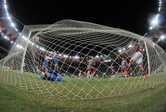 Piłka nożna - Brazylia Zdjęcia Royalty Free