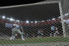piłka nożna brazylijskie obrazy stock