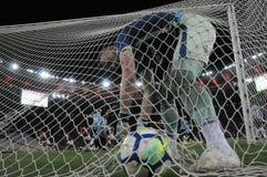 piłka nożna brazylijskie zdjęcie stock