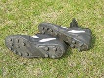 Piłka nożna buty Zdjęcie Royalty Free