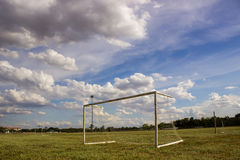 Piłka nożna cel dzień Obraz Stock