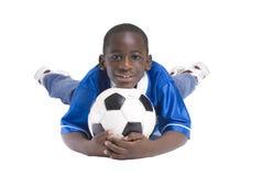 piłka nożna chłopca Zdjęcia Royalty Free