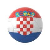 piłka nożna chorwacka ilustracja wektor