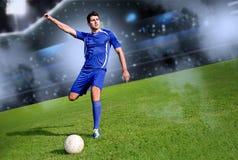 Piłka nożna czas fotografia stock