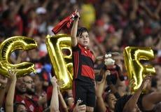 Piłka nożna Flamengo Zdjęcia Royalty Free