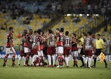 Piłka nożna Flamengo Obraz Royalty Free