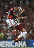 Piłka nożna Flamengo Zdjęcia Stock