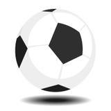 Piłka nożna futbol lub piłka ilustracja wektor