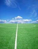 piłka nożna futbolowy temat Zdjęcia Royalty Free