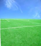 piłka nożna futbolowy temat Fotografia Royalty Free