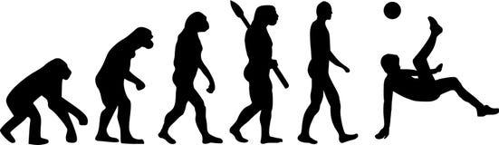 Piłka nożna futbolu ewolucja ilustracji
