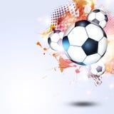 Piłka nożna futbolu piłki Obraz Royalty Free
