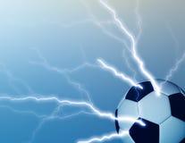 piłka nożna gorączkowa Zdjęcie Royalty Free