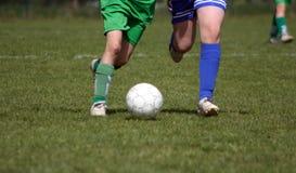 piłka nożna gracza Obraz Stock