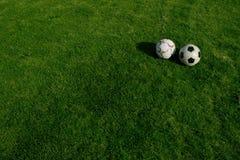 piłka nożna jaja Zdjęcie Stock