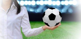 Piłka nożna kierownik Obrazy Stock