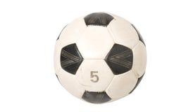 piłka nożna odizolowana jaja obraz royalty free