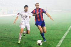Piłka nożna pojedynek Zdjęcia Stock