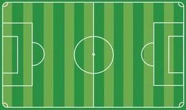 piłka nożna pola royalty ilustracja