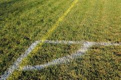 piłka nożna pola zdjęcie stock