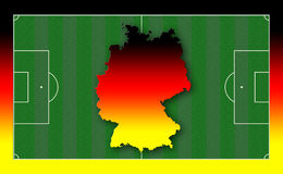 piłka nożna pola ilustracja wektor
