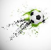 Piłka nożna projekt Obrazy Royalty Free