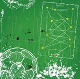 Piłka nożna projekta pojęcie Obraz Royalty Free