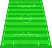 Piłka nożna teren Obrazy Stock