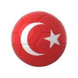 piłka nożna turecka ilustracja wektor