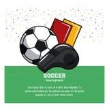 Piłka nożna turniej infographic ilustracja wektor