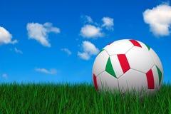 piłka nożna włoskiej balowa royalty ilustracja
