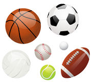 piłka sporty Fotografia Royalty Free