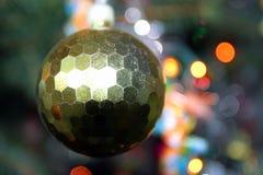 piłka złota obraz stock