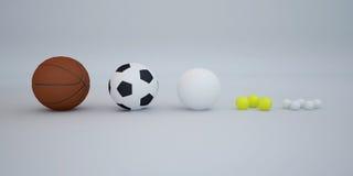 Piłki Obraz Stock