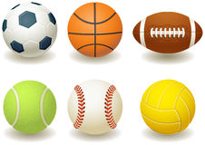 piłki royalty ilustracja