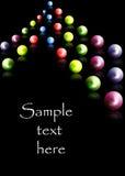 piłki barwić Zdjęcie Royalty Free