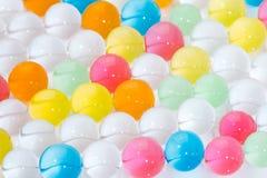 Piłki barwiony polimer gel, hydrożeli/lów koraliki fotografia stock