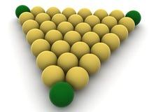 piłki bilardowe ilustracji