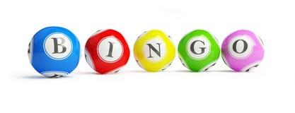 piłki bingo royalty ilustracja