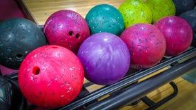 Piłki dla rzucać kulą grę Fotografia Royalty Free