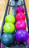 Piłki dla rzucać kulą grę Obraz Royalty Free