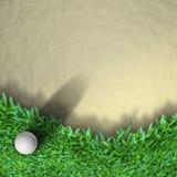 piłki golfa trawa royalty ilustracja