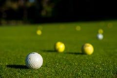 Piłki golfowe fotografia royalty free